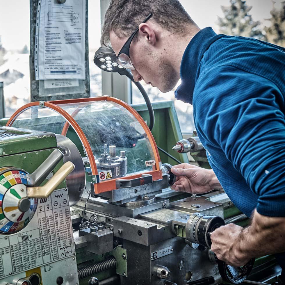 KATEK Auszubildender Industriemechaniker