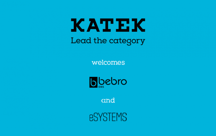 Katek welcomes bebro and Esystems