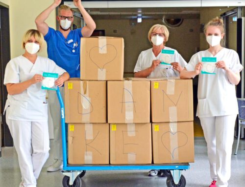 KATEK Group spendet 11.000 FFP-2 Masken an lokale Kliniken und Pflegeheime